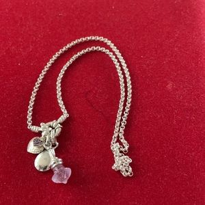 Brand New 925 Silver Bracelet With 925 Charms